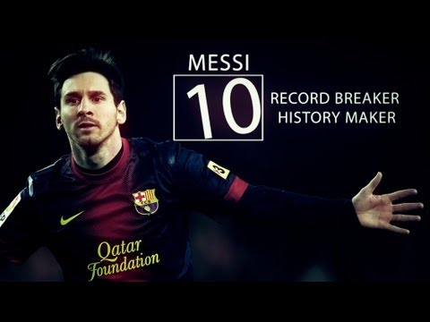 Messi - Record breaker, history maker | N.S. production™