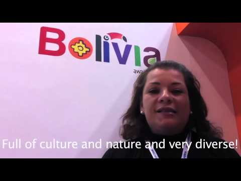 Bolivia Tourism Board at World Travel Market 2012
