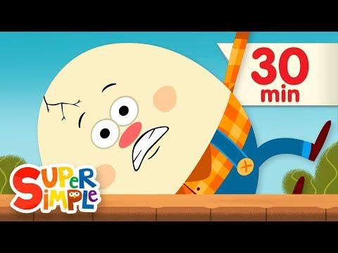 Humpty Dumpty | + More Kids Songs | Super Simple Songs