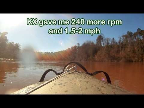 MOKAI™ Jet Boat with Subaru KX21 Engine - Flooded Logging area and Altamaha River