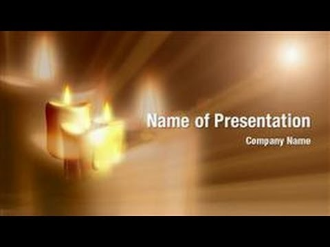 Candle Background Powerpoint Candle Light Powerpoint Video