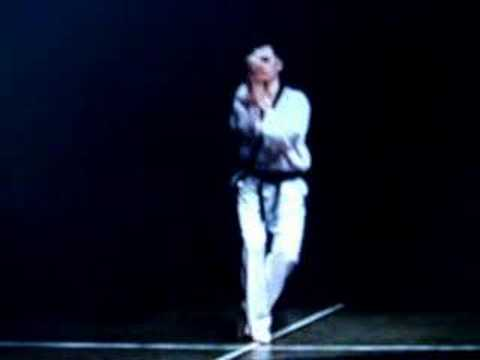 WTF taekwondo patterns taegeuk sam jang (taegeuk 3) - YouTube