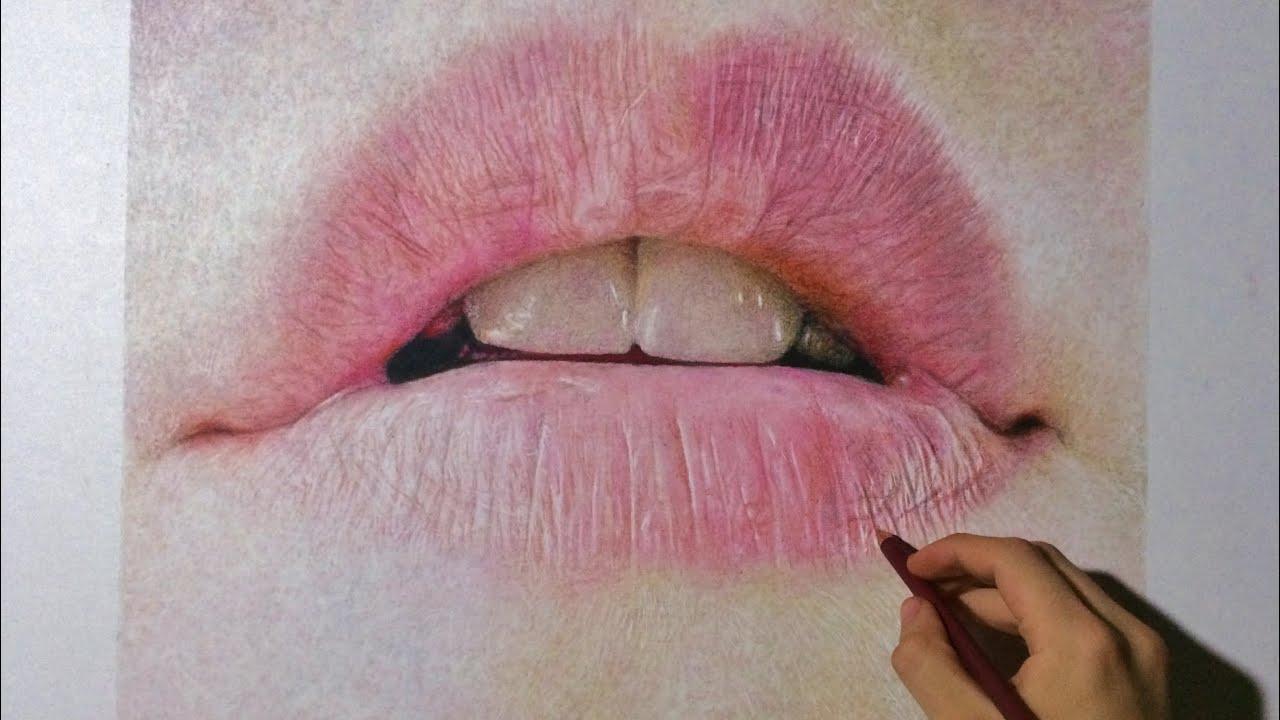 how to make realistic lips in illustrator