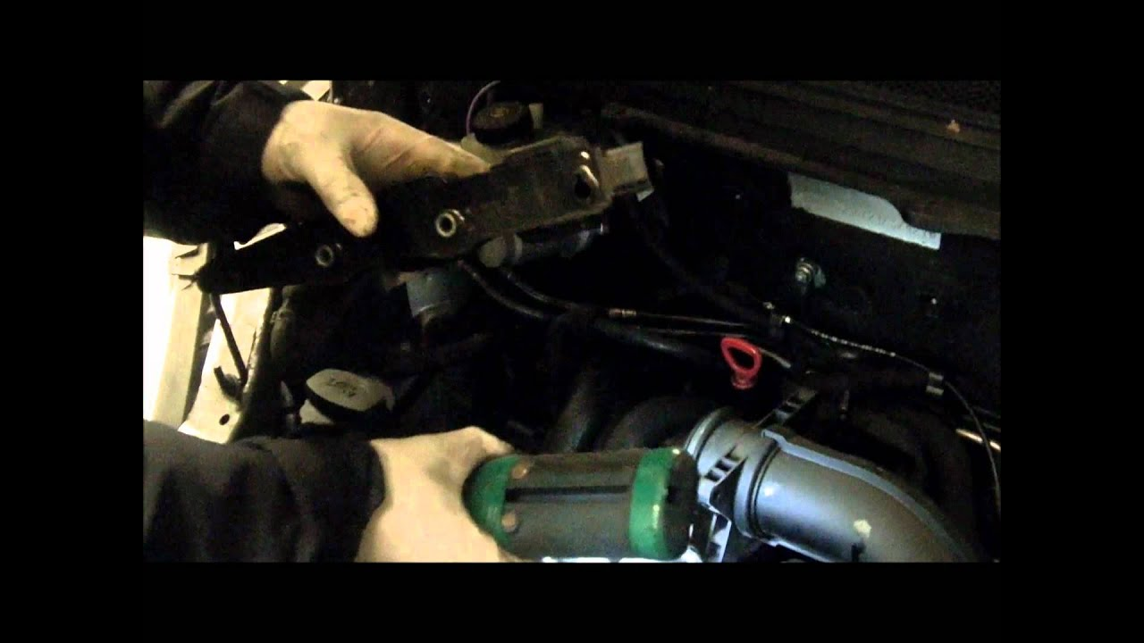 Mercedes A Class Spark Plug Removal Youtube