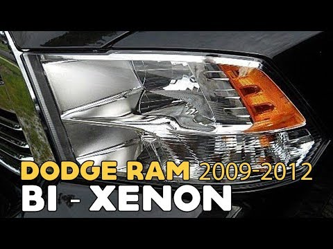 Dodge Ram 2009-2012. HID Bi-xenon projectors tutorial