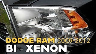 Dodge Ram 2009-2012, HID Bi-xenon projectors tutorial