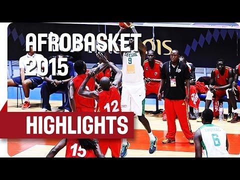 Senegal v Uganda - Game Highlights - Round of 16 - AfroBasket 2015