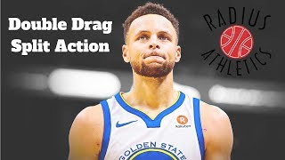 Golden State Warriors - Double Drag Split Action ft. Steph Curry