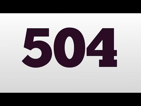 Header of 504