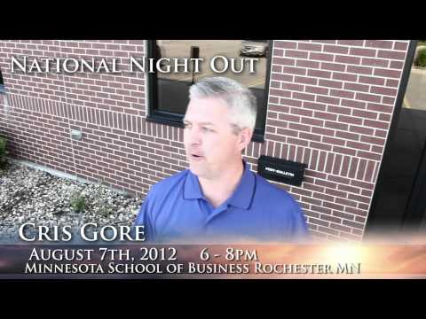 National Night Out at Minnesota School of Business Rochester