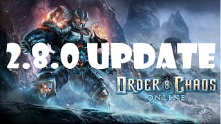 Order and Chaos Online UPDATE 2.8.0: Every Class Changes and First Impressions