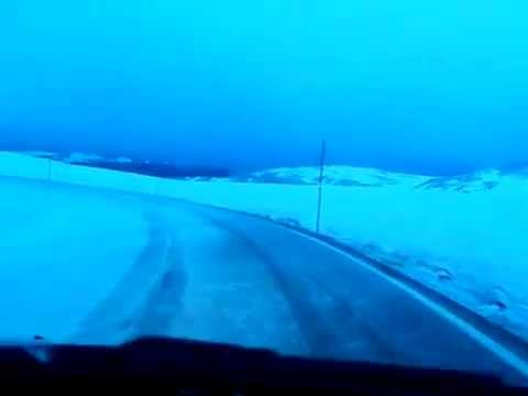 Driving Montana and Wyoming's Beartooth Pass June, 16, 2011