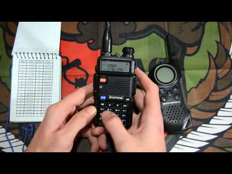 Configurar canal PMR 446 en Baofeng UV-5R