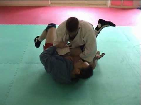 Sambo Techniques - Armbar Drill Image 1