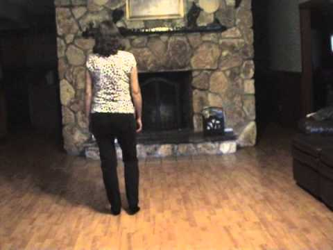 Creepin' Line Dance - Demo & Teach By Gail Smith.mpg video