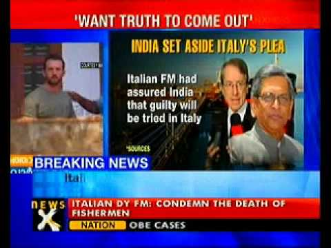 Want truth to come out in fishermen killings: Italy-NewsX