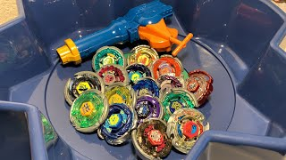 MYSTERY PICK BATTLES! BEYBLADE METAL MASTERS TRIPLE BATTLE BEYSTADIUM