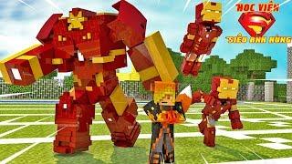Chế Tạo Bộ Giáp Người Sắt   Minecraft Roleplay: Học Viện Siêu Anh Hùng #2