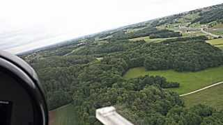 Flying low with Ultralight Aircraft over Maribor