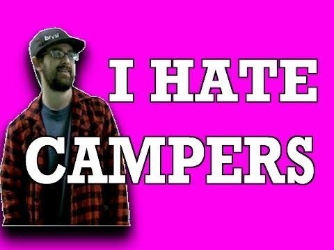 I HATE CAMPERS - RAP SONG (WITH LYRICS)