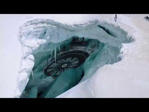 Máquina alienigena na Antártida?