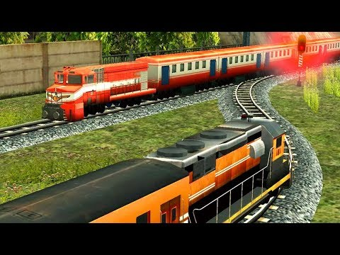 Train Racing Games 3D 2 Player APK Cover