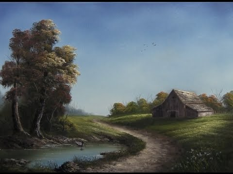 Paint with Kevin Hill - Road through the Farm