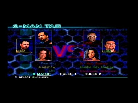WWF SmackDown! Just Bring It - APA & Lita VS Dudley Boyz & Stephanie thumbnail