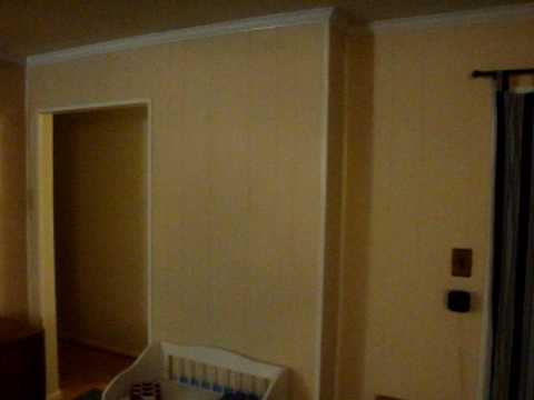 Wood Paneling Before And After Youtube