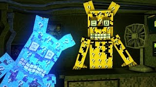 Minecraft | LUCKY BLOCK FIVE NIGHTS AT FREDDY'S BOSS CHALLENGE - Five Nights At Freddy's Springtrap!