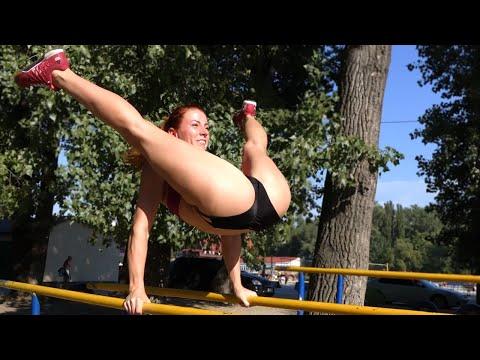 Amazing Strong & Flexible Ukrainian Girl