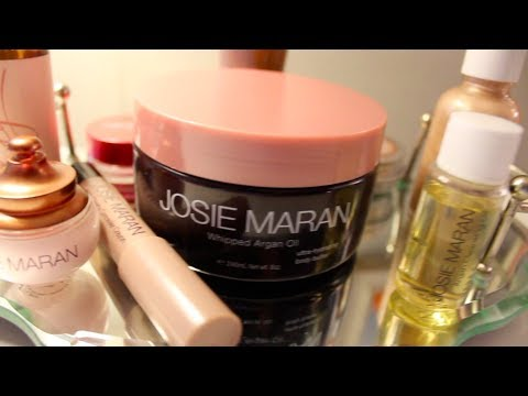 Josie Maran Review--Makeup & Skincare!!
