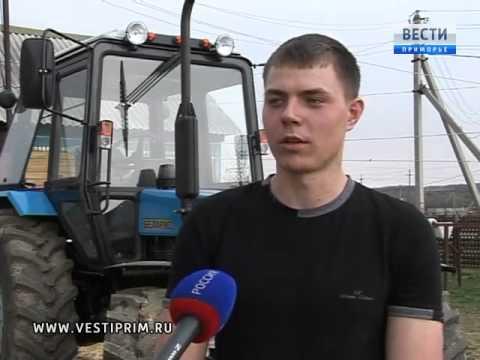 В Яковлевском районе потомственный молодой фермер получили грант в 1,5 млн рублей