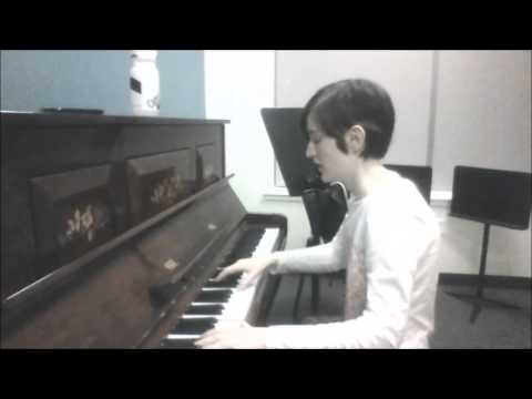 Summersong Decemberists piano cover