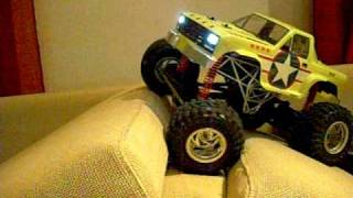 F-100 wheely king crawler rc