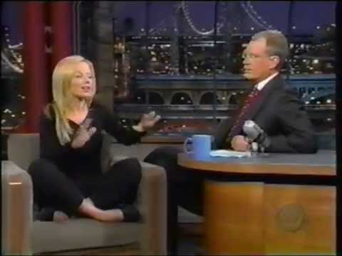 Geri Halliwell on David Letterman   Interview 1999