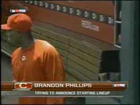 Brandon Phillips Line-up Outtakes Video