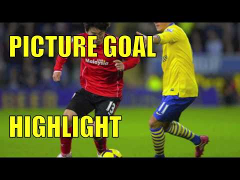 GOAL! Arsenal vs Cardiff City All Goals & Highlights 1/1/14 HD MY THOUGHTS