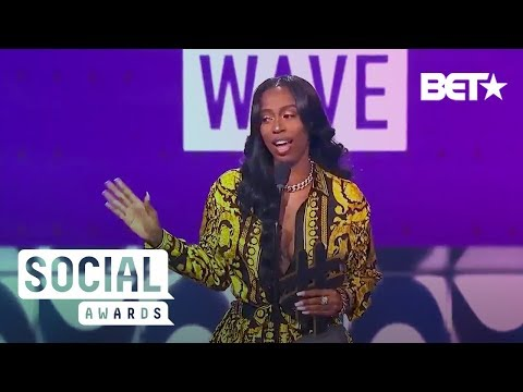 Rapper Kash Doll Talks About How Social Media Fueled Her Dreams | BET Social Awards