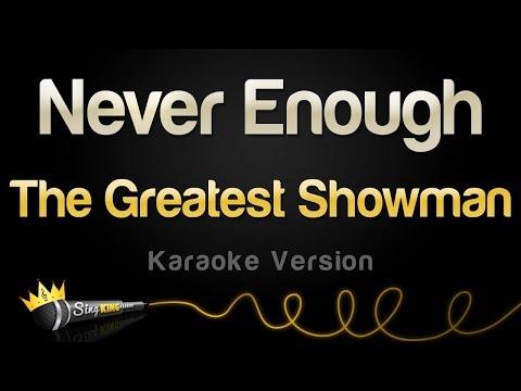 Download  The Greatest Showman - Never Enough Karaoke Version Gratis, download lagu terbaru