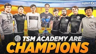 How TSM Academy Won Finals with Only FOUR Players on Stage