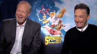 Tom Kenny and Bill Fagerbakke Talk 'The SpongeBob Movie: Sponge Out of Water'