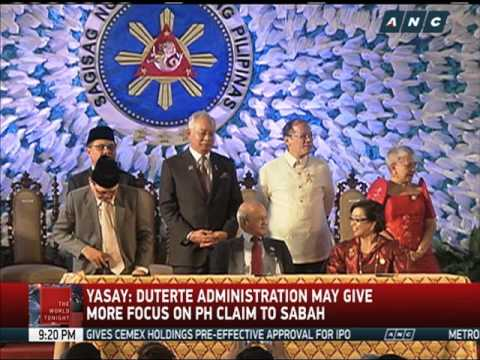 Duterte may give more focus on Sabah claim