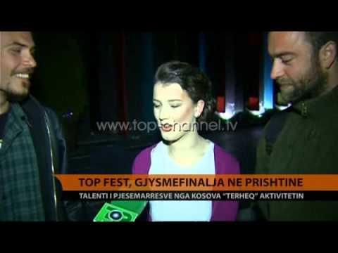 """""""Top Fest 12"""", gjysmëfinalja në Prishtinë - Top Channel Albania - News - Lajme"""