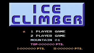 Ice Climber - NES Gameplay