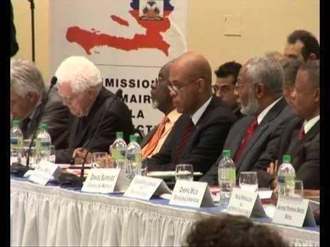 WORLDMAGNUM: HAITI - UN SPECIAL ENVOY CLINTON & RECONSTRUCTION (MINUSTAH)