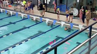 Shepard's first swim meet-3