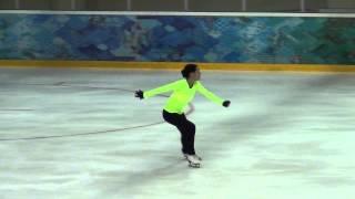 00923 Russian test skate 07 09 2014 Adelina Sotnikova FS
