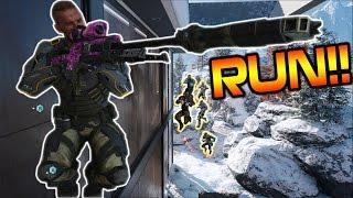 1 SNIPER vs 17 KILLERS!! RUNNING WITH CIZZORZ #24!! (Fun Custom Games w/ Subscribers)