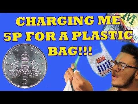 CHARGING ME 5P FOR A PLASTIC BAG?!?!?!!!
